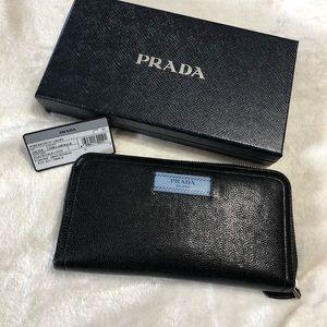 Authentic Prada long wallets